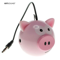Kitsound Mini Buddy Pig Luidspreker