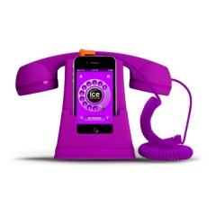 Telefono stile retro Ice-Phone - Viola