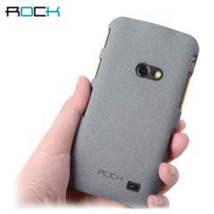 Rock Ultra Thin Quicksand Hard Faceplate - Samsung Galaxy Beam - Grey