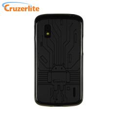 Coque Google Nexus 4 Cruzerlite Androidified TPU - Noire