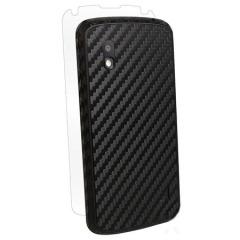 Film de protection intégral LG Nexus 4 BodyGuardz - Noire