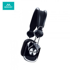 Merkury Retro Stereo Headset in Schwarz