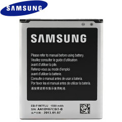 Replacement battery for your Samsung Galaxy S3 Mini. You'll never run out of power again.