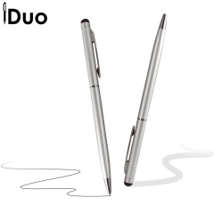 Stylet iDuo avec stylo - Argent