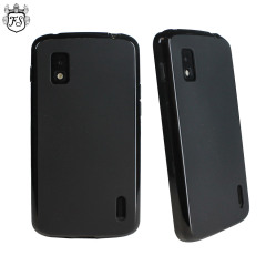 Funda Nexus 4 FlexiShield Skin - Negro