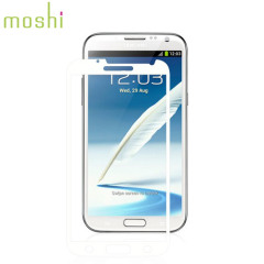 Moshi iVisor Anti Glare Screen Protector for Galaxy Note 2 - White