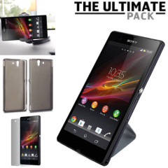 The Ultimate Sony Xperia Z Accessory Pack - Zwart