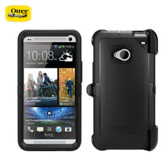 Otterbox Defender Series voor HTC One - Zwart