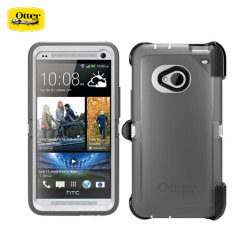 Otterbox Defender Series voor HTC One - Wit/Zilver