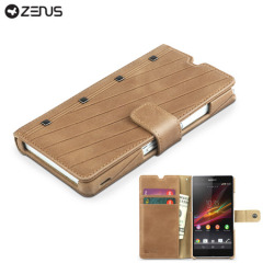 Zenus Prestige Neo Vintage Diary for Sony Xperia Z - Brown
