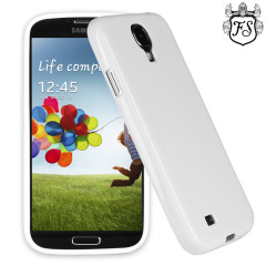 Funda Samsung Galaxy S4 FlexiShield  - Blanco