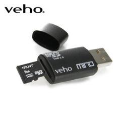 Lettore di schede MicroSD Veho VSD-003