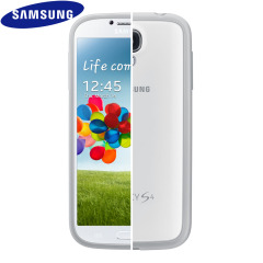 Samsung Galaxy S4 Protective Hard Case Cover Plus - White
