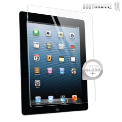 BodyGuardz Pure Apple iPad 4 / 3 / 2 Displayschutz Premium Glas
