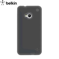Belkin F8M568 Grip Sheer Matte Case for HTC One - Black