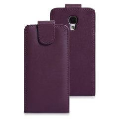 Galaxy S4 Tasche im Flip Design in Lila