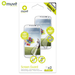 Muvit Matte & Glossy Screen Protector for Samsung Galaxy S4