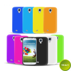 Pack 10-in-1 di custodie in silicone per Samsung Galaxy S4
