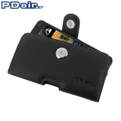 PDair Horizontal Leather Pouch HTC One 2013 Tasche