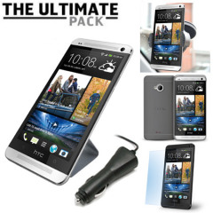 The Ultimate HTC One 2013 Accessory Pack - Zwart