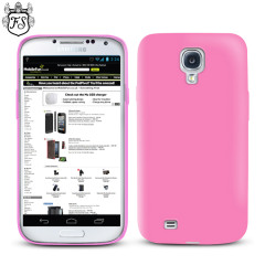 Funda Samsung Galaxy S4 FlexiShield  - Rosa