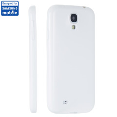 Custodia Jelly originale Samsung per Galaxy S4 - Bianco