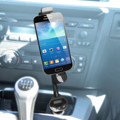 Olixar RoadWarrior Micro USB Car Holder, Charger & FM Transmitter