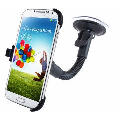 Galaxy S4 KFZ Halterung in Schwarz