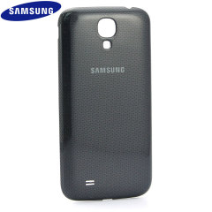 Genuine Samsung Galaxy S4 Wireless Charging Cover - Black