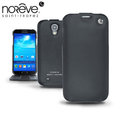 Keep your Samsung Galaxy S4 well protected from damage with this high quality, beautifully crafted genuine leather case from Noreve.