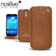 Custodia in pelle Tradition Noreve per Samsung Galaxy S4 Active - Marrone