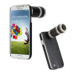 Custodia con lente fotografica telescopica a lungo raggio per Samsung Galaxy S4