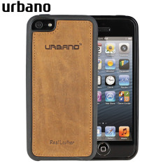 Custodia Slim Urbano in vera pelle per iPhone 5S / 5 - Vintage