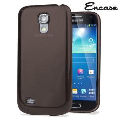 FlexiShield Case for Samsung Galaxy S4 Mini - Smoke Black