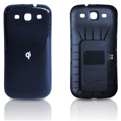 Samsung Galaxy S3 Qi Wireless Charging Back Cover - Blue