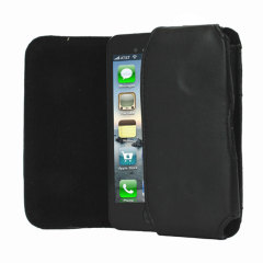 Universelle Smartphone Tasche in Schwarz