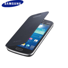 Official Samsung Galaxy Ace 3 Flip Cover - Black