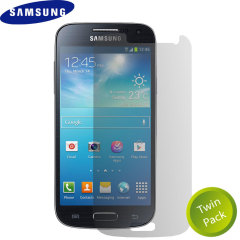 Official Samsung Screen Protector for Galaxy S4 Mini (Twin Pack)