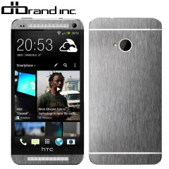 dbrand Textured Front and Back Cover Skin for HTC One - Titanium