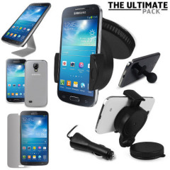 Pack accessoires Samsung Galaxy S4 Mini Ultimate - Blanc