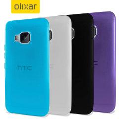 4 Pack Encase FlexiShield HTC One M9 Cases