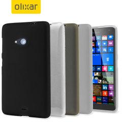 4 Pack FlexiShield Microsoft Lumia 535 Cases