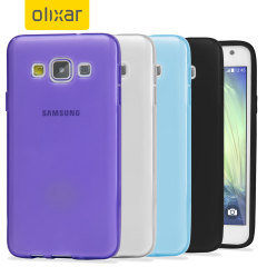 4 Pack FlexiShield Samsung Galaxy A3 2015 Cases