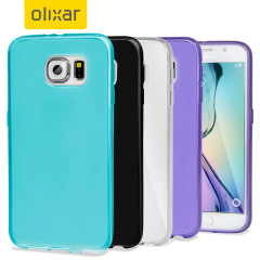4 Pack Olixar FlexiShield Samsung Galaxy S6 Cases