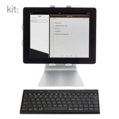 Teclado Bluetooth Kit Slim - Negro