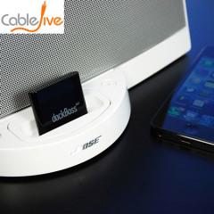 Conecte cualquier dispositivo Bluetooth al Air soporte Boss para transmitir música de forma inalámbrica a cualquier Apple 30. Ideal para Android y teléfonos inteligentes de Apple, así como PCs, portátiles y tabletas.