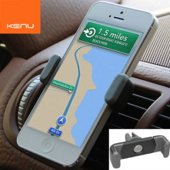 The world's most portable car mount for smartphones, attaching to any air vent and weighing only 23g makes The Kenu Airframe in black perfect for everyday use.