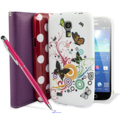 Girly Case Pack for Samsung Galaxy S4 Mini