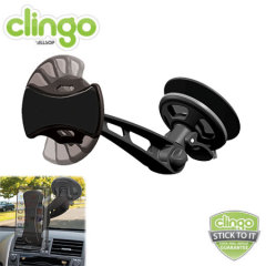Using Clingo's own unique self adhesive technology, securely hold any phone or sat-nav in your car with the Clingo Universal In Car Holder v2.