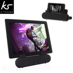 Enceinte support smartphone et tablette KitSound Surround Sound Stand
